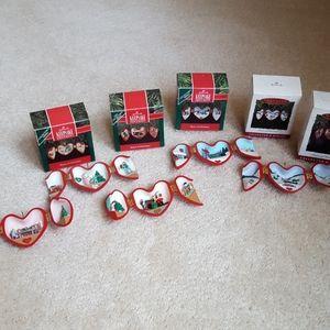 Heart of Christmas Hallmark ornaments